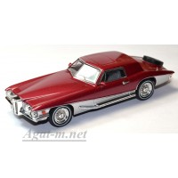 002PRM-PRD Stutz Blackhawk Coupe, red metallic/silver