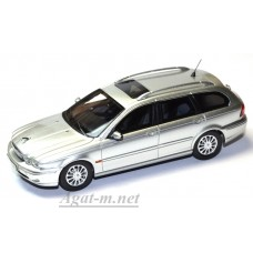 Модель Jaguar X-Type Wagon 2004 серебристый цвет