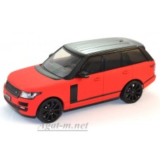 405-PRD Range Rover Vogue 2014, Matt Red/Black