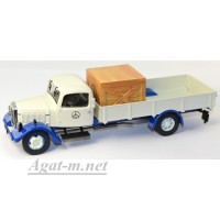 "12650-PCL MB L3000 pick up w. wooden box ""MB"" бело-синий"