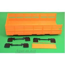 3005-ПРТ Комплект кузова Уральского грузовика 5323 цвет оранжевый