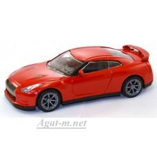 35100-1-РСТ Nissan GTR, красный