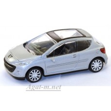 41800-РСТ Peugeot-207, серебристый