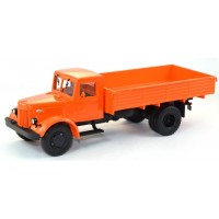10015-1-АИСТ МАЗ-200 грузовик бортовой, оранжевый