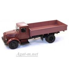 10074-1-АИСТ ЯАЗ-200 бортовой, темно-красный