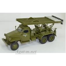 "102521-АИСТ Studebaker US6 БМ-13  ""Катюша"""