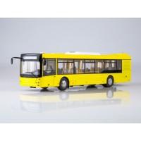 102651-АИСТ Городской автобус МАЗ-203 (желтый)