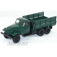 1015-ССМ ЗИС-151 грузовик бортовой, зеленый