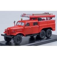 1111-ССМ ПМЗ-27 (на шасси ЗИЛ-157К) пожарная машина.