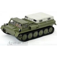 3001-ССМ Горький-71 ГТ-СМ снегоболотоход, зеленый