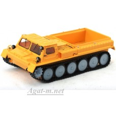 3002-ССМ Горький-71 ГТ-СМ снегоболотоход открытый, оранжевый