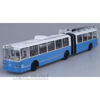 4006-ССМ ЗиУ-10 (ЗиУ-683) троллейбус, бело-голубой