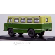 Армейский автобус АС-38, двухцветный