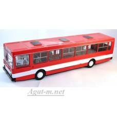4021-ССМ Ликинский автобус-5256 городской красный/белый