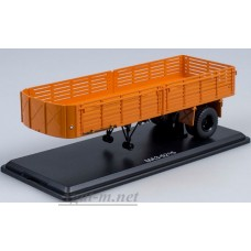 7010-ССМ Полуприцеп МАЗ-5215, оранжевый