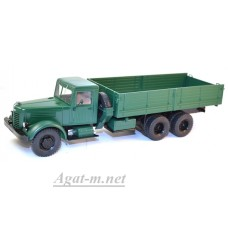 1081-ССМ ЯАЗ-210 грузовик бортовой, темно-зеленый
