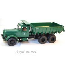 1082-ССМ ЯАЗ-210 самосвал, темно-зеленый