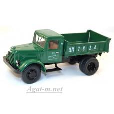 1125-ССМ ЯАЗ-205 самосвал, зеленый