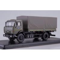 1271-ССМ КАМАЗ-43253 бортовой с тентом