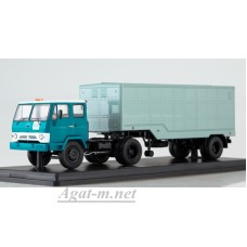 7047-ССМ КАЗ-608В с полуприцепом ОДАЗ-794