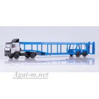 7052-ССМ МАЗ-5432 с полуприцепом-автовозом 934410 (А908)