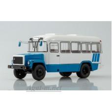 4017-ССМ Пригородный автобус КАвЗ-3976, бело-голубой