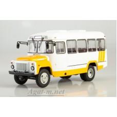 4035-ССМ КАВЗ-3270 автобус, бело-желтый