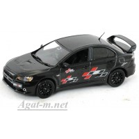 29248-ВИТ Mitsubishi Lancer Evo X Ralliart, black