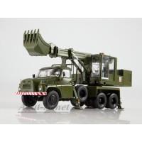 1419-ССМ Экскаватор-планировщик UDS-110 (на шасси Tatra-148) армейский