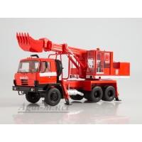 1421-ССМ Экскаватор-планировщик UDS-114А (на шасси Tatra-815) пожарный