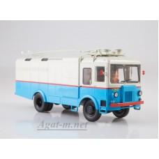 4049-ССМ Грузовой троллейбус ТГ-3 (бело-голубой)