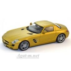 07414-SHU Mercedes Benz SLS AMG C197 2009, gold