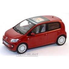 07546-SHU Volkswagen Up! 4-door version 2012, Red