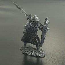 5001Б-ПУБ Нормандский рыцарь в бою, XI век.