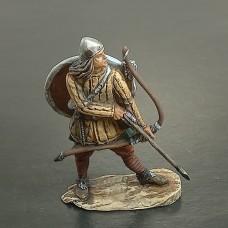 5004КР-ПУБ Викинг лучник, IX-XI век. (в росписи)