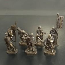 4039А-ПУБ Крестовые походы, командная группа (латунь)
