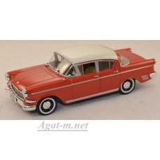550116-STR  Opel Kapitan 1958, red/white