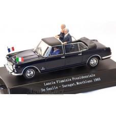 560412-STR Lancia Flaminia Presidenziale 1961 De Gaulle / Saragat