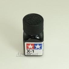 80001-ТАМ Х-1 Black (Черная) краска эмалевая, 10мл