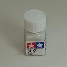 80002-ТАМ Х-2 White (Белая) краска эмалевая 10мл.