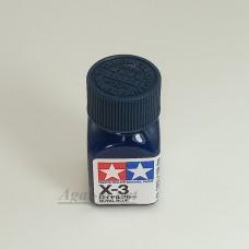 80003-ТАМ Х-3 Royal Blue (Корол. синяя) краска эмалевая 10мл.