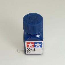 80004-ТАМ Х-4 Blue (Синяя) краска эмалевая 10мл.