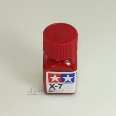 80007-ТАМ Х-7 Red (Красная) краска эмалевая 10мл.