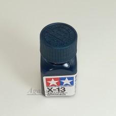 80013-ТАМ Х-13 Metallic Blue (Синий металлик) эмалевая 10мл.