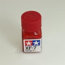 80307-ТАМ XF-7 Flat Red (Красная матовая) краска эмалевая, 10мл