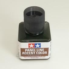 87132-ТАМ Краска для финальной отделки моделей (смывка, коричневая 40мл)