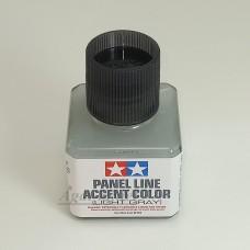 87189-ТАМ Краска для финальной отделки моделей (смывка, светло-серая 40мл)