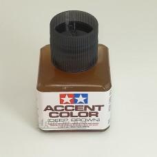 87210-ТАМ Краска для финальной отделки моделей (смывка, глубокий коричневый 40мл)