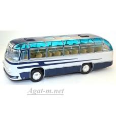 001В-УЛТ ЛАЗ-695 пригородный автобус, синий/белый