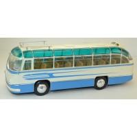 """003ВС-УЛТ ЛАЗ-695Б автобус туристический """"Комета"""", голубой/белый"""